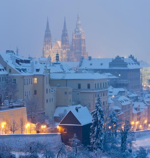 Новогодняя Прага, экскурсии по Чехии, трансферы, аэропорт