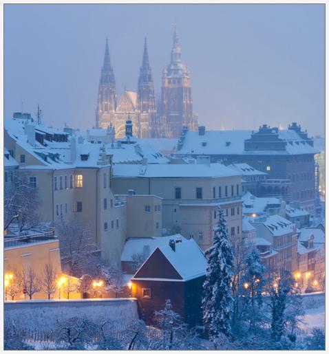 Новогодняя Прага, экскурсии и трансферы по Чехии