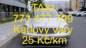 taxi karlovy vary